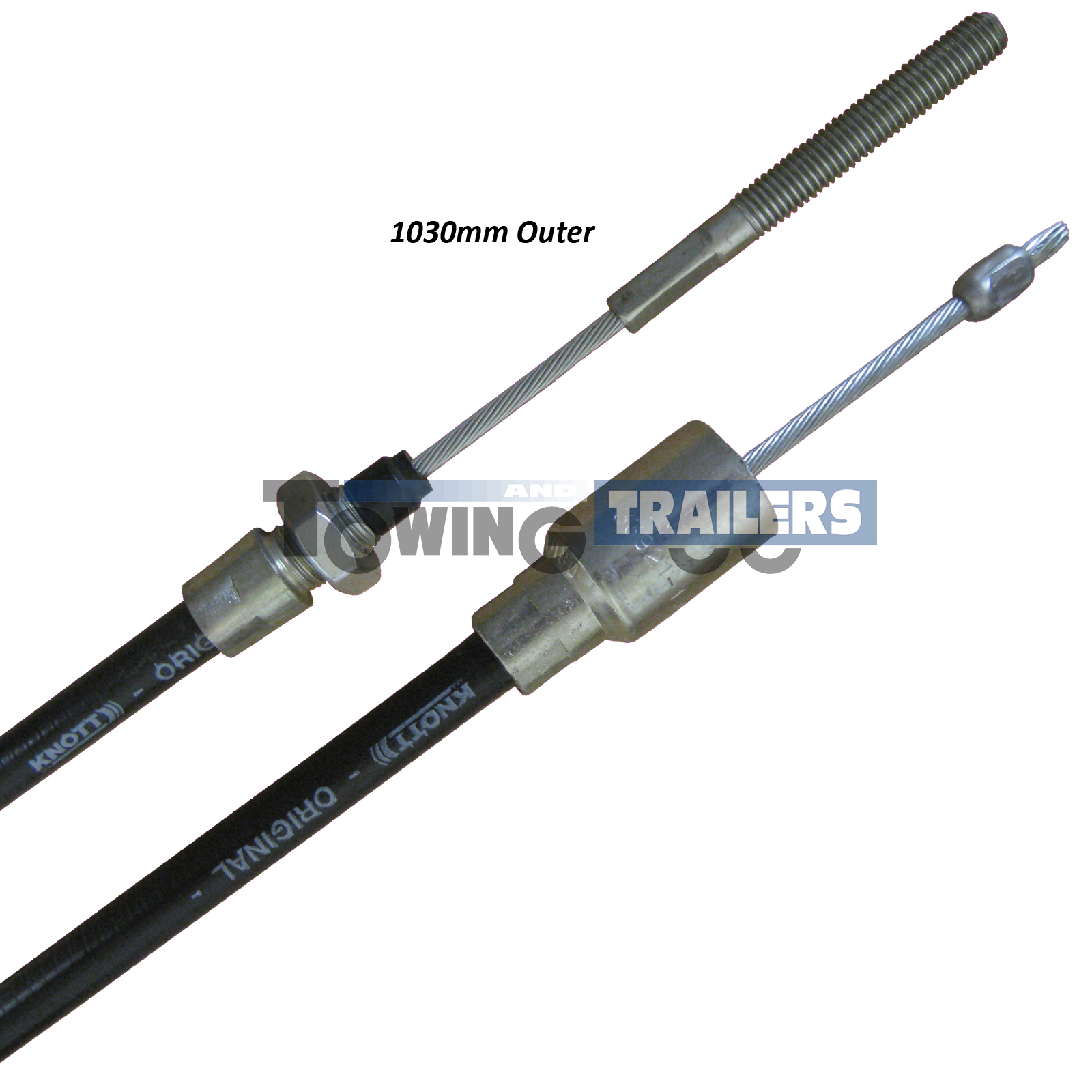 Knott Detachable Bowden Trailer Brake Cable 1030mm Outer 33921 1 11