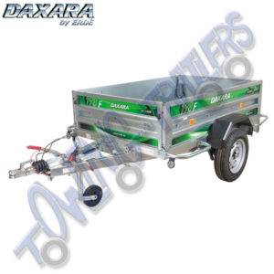 Daxara 198.2F Braked Trailer (equivalent to Erde 193F)