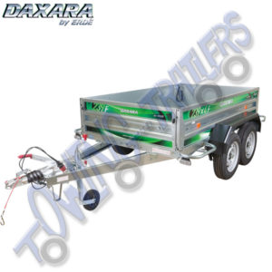Daxara 239.2F Twin Axle Braked Trailer (equivalent to Erde 234x4F)