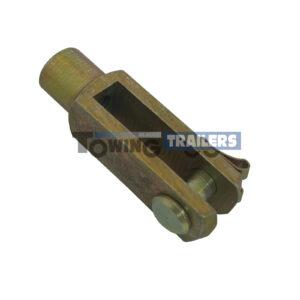 8mm Trailer Brake Clevis - Trailer Brake Cables M8 Threaded End