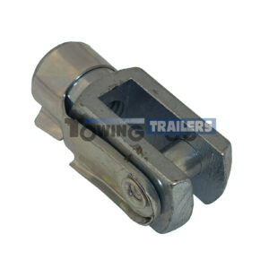 40mm Trailer Clevis Pin - M8 Threaded End Trailer Brake Parts