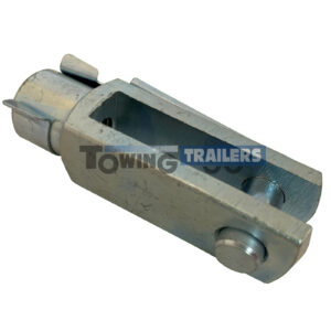 10mm Trailer Clevis Pin 72mm Overall Length M0 Thread