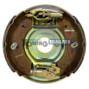 230x61mm Alko Trailer Backplate - Complete Brake Assembly