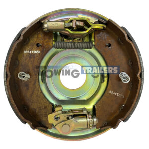230x61mm Alko Righthand Backplate - Complete Brake Assembly