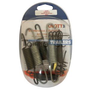 Knott 250x4mm Spring Set - MK3 Knott Avonride Trailer Brake Spares