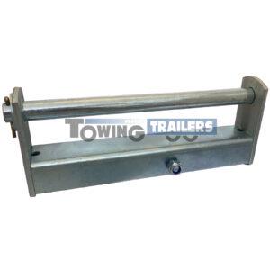 Parallel Side Roller Bracket - 220mm Bracket 16mm Diameter Spindle