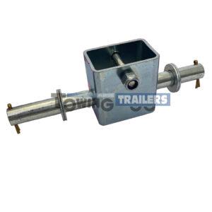 Single Dumbbell Bracket 195mm - 16mm Spindle Roller Bracket