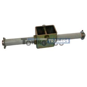 Double Castor Roller Bracket - 262mm 19mm Spindle