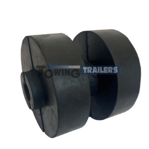 120mm Double Dumbbell Roller - 16mm Spindle Bore