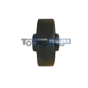 102mm Single Dumbbell Roller - 16mm Diameter Bore