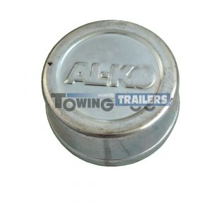 Alko Trailer Hub Cap 55mm BZP 160mm 200mm Brake Drum