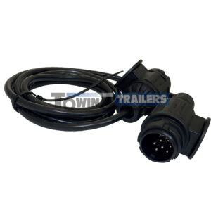 13 Pin 2m Extension - Trailer Cable 2x 8 Pin Plugs