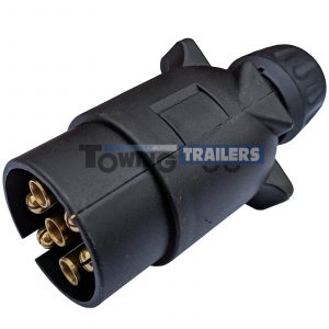 12N 7 pin Plastic Trailer Plug