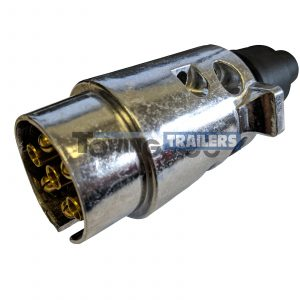 12N 7 pin Alloy Trailer Plug