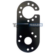 S Type Adaptor Plate - Quick Fit Conversion Plate - Trailer Electrics