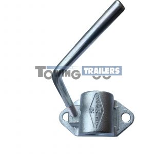 Bradley 34mm B34 Cast Steel Trailer Jockey wheel Clamp PD1
