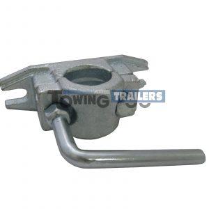 Maypole 48mm Heavy Duty Ribbed Trailer Jockey Wheel Clamp