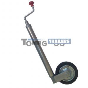 Bradley J43L 43mm Trailer Jockey Wheel 175x45mm