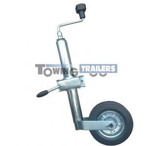 Knott 48mm Trailer Jockey Wheel Kit Pressed Steel Clamp