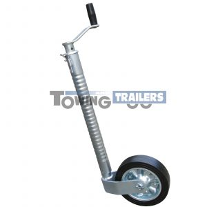 Maypole 48mm Ribbed Trailer Jockey Wheel 200x55mm