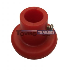 Bradley Doublelock Kit 142 Spare Red Knob Trailer Jockey Wheel
