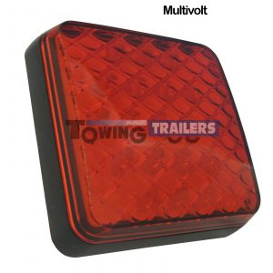LED Autolamps Multivolt 81 Series Square Trailer Stop Tail Light