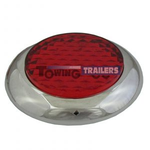 LED Autolamps 145RME Stop Tail Light Chrome Surround Multivolt