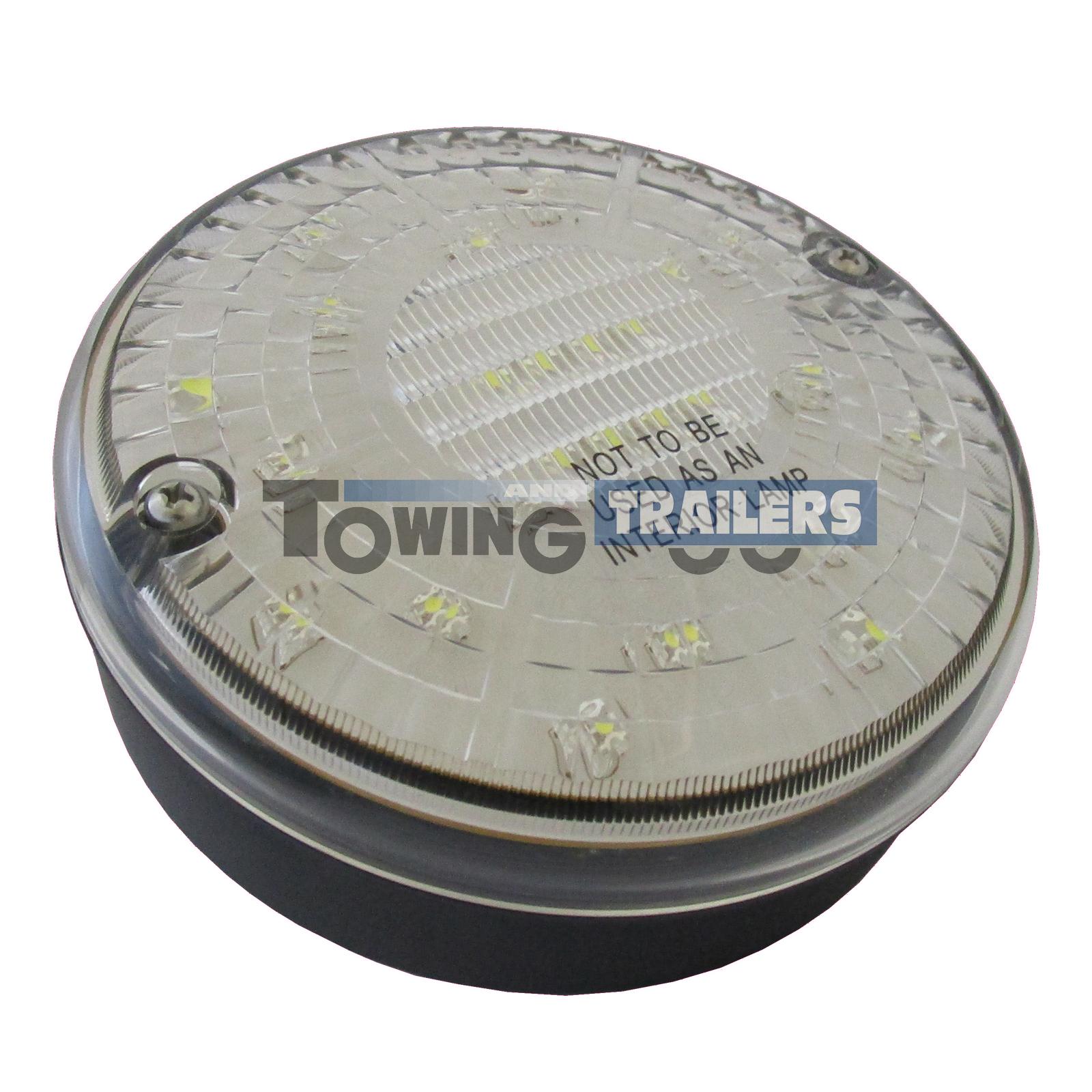 LED Autolamps 140WM Multivolt Round Reverse Light for Trailers