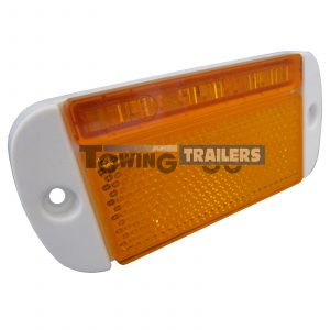 LED Autolamps 44WAME Side Low Profile Marker Light White Surround