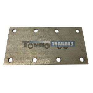 8 Hole Trailer Suspension Mounting Plate 750-1500kg