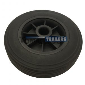 Maypole 160x35mm Replacement Wheel 34mm Trailer Jockey Wheels