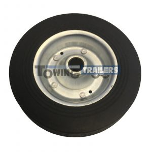 Maypole Replacement 200x50mm Wheel 42mm Trailer Jockey Wheel