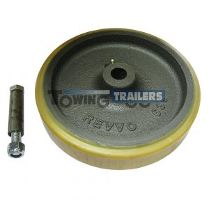 Bradley 200x45mm Replacement Wheel 63mm Trailer Jockey Kit 3622