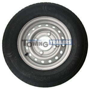 165x80R13C 96-94N Trailer Tyre 4 Stud 5.5 Inch PCD ET26