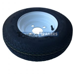 4-80x8 4PLY 62M Trailer Tyre 4 Stud 4 Inch PCD