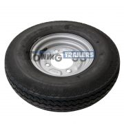 400x8 4 PLY 62M Trailer Tyre 4 Stud 115mm PCD