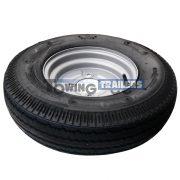 500x10 4PLY 72M Trailer Tyre 4 Stud 115mm PCD