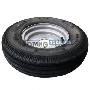 500x10 4PLY 72M Trailer Tyre 4 Stud 115mm PCD