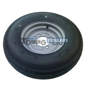 500/10 6-Ply 78N Trailer Wheel 4 Stud 115mm PCD