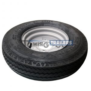 500x10C 78N 6PLY Trailer Tyre 4 Stud 115mm PCD