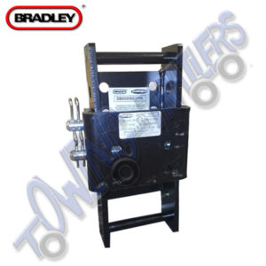 Bradley Adjustable Height Coupling 200mm with Slider - 2 Pins and R Clips DB202090/2PIN