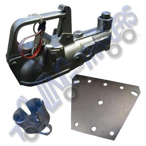 Genuine Indespension 'Triplelock' coupling head for Erde trailer A-frame drawbars