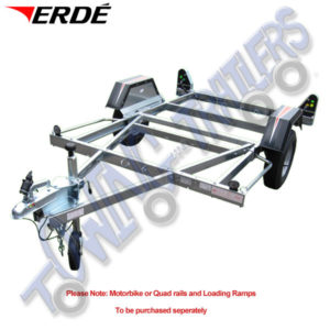 Erde CH451 Motorcycle Trailer to carry 1 or 2 Motorbikes