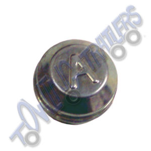 Avonride 47mm Dust Hub Cap BZP - Fits A,/C/ E/ F Series Drums (each)