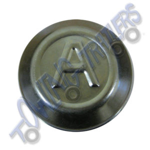 Avonride 60mm Dust Hub Cap BZP