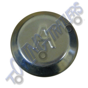 Avonride 74mm Dust Hub Cap BZP - fits V & T Series Drums