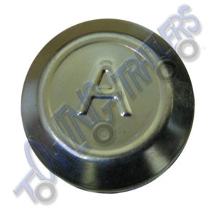 Avonride 82mm Dust Hub Cap BZP - fits G, H, L Series Drums