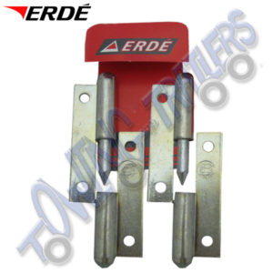 Hinge set for Daxara 107-148 + ERDE 102-143 09191018