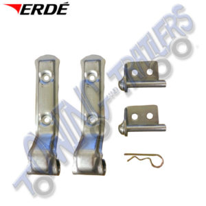 Erde Replacement Hinges for Tailgate on Erde 153 & Newer Version 163-234 (160mm)