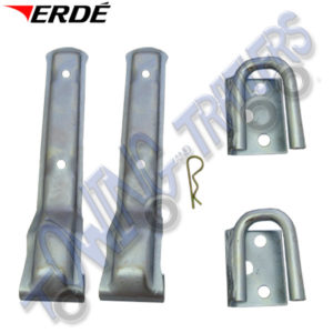 Erde Replacement Hinges for Tailgate 163-234 Trailers 09191044
